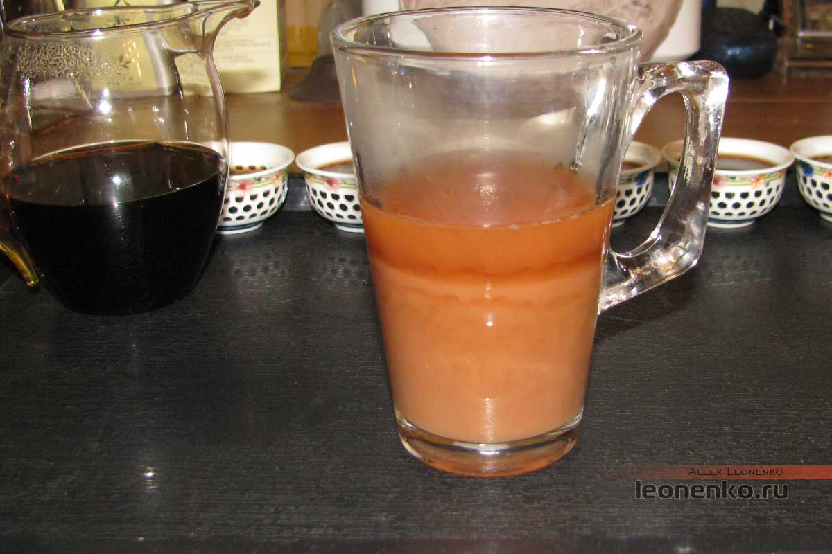 Шу Пуэр Мин Ю Гу Шу Шу Ча с молоком