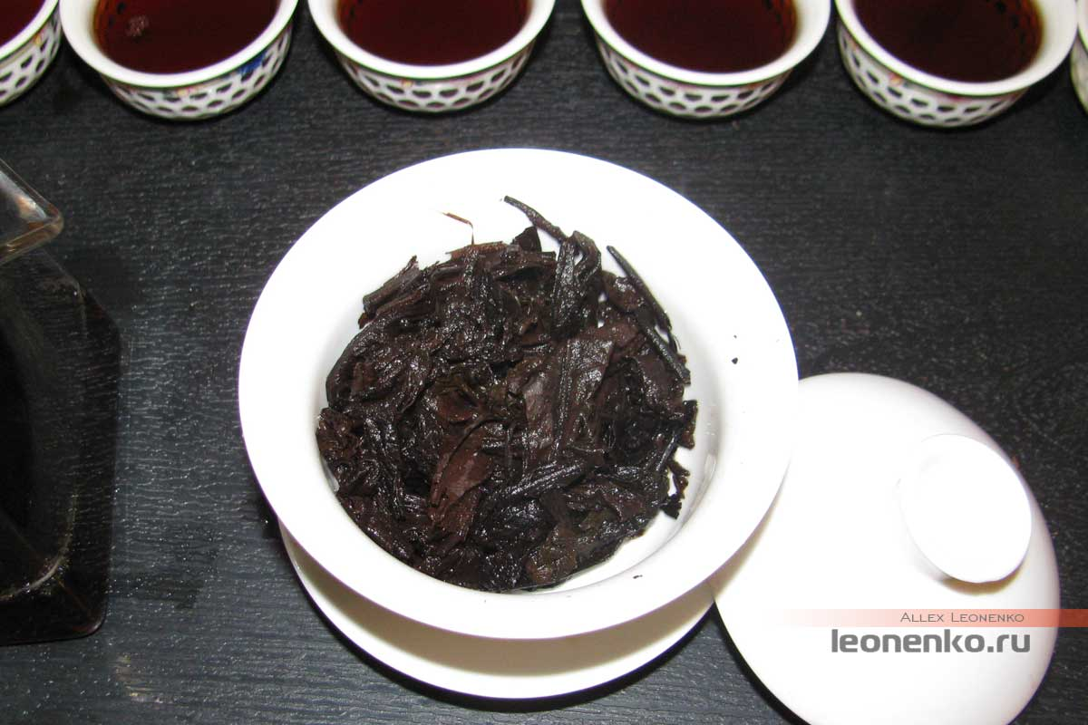 Шу Пуэр Мин Ю Гу Шу Шу Ча - чайное дно