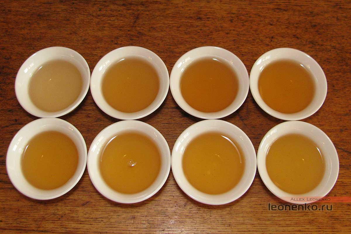 Шен Ся Гуань Dragon Ball из старых деревьев - готовый чай