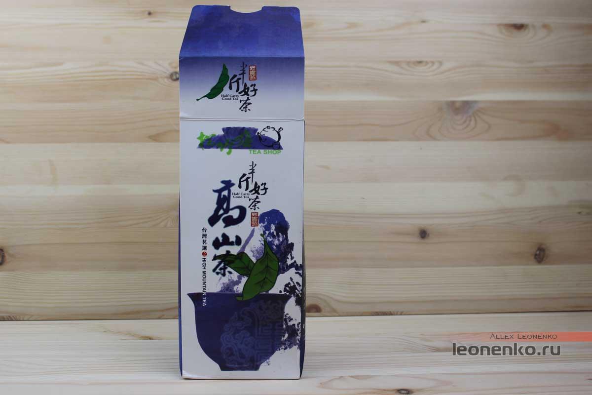 Упаковка чая, выпущенная на Тайване
