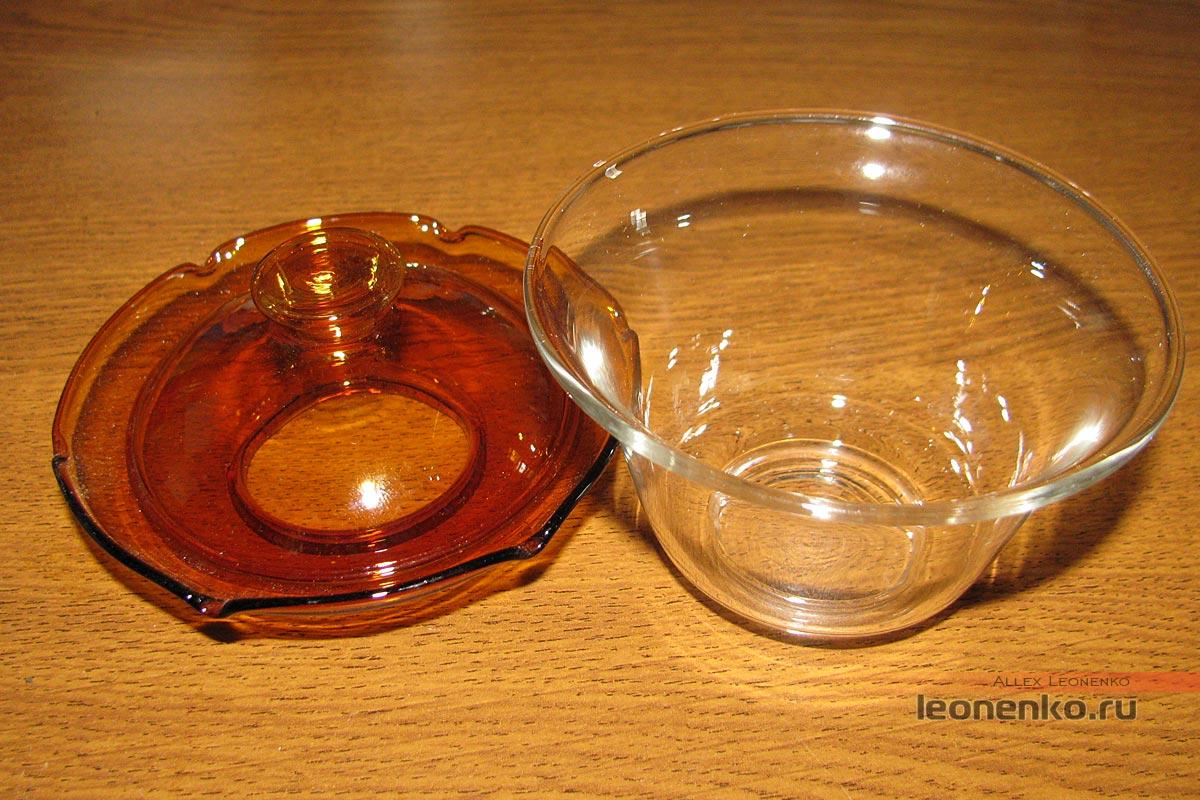 гайвань из борсиликатного стекла