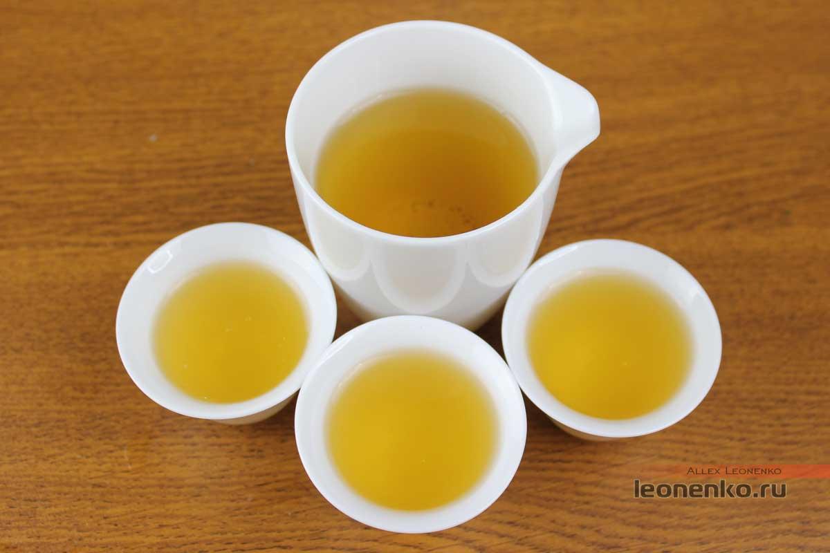 Тайский Молочный Улун с рынка «Для туристов» - готовый чай