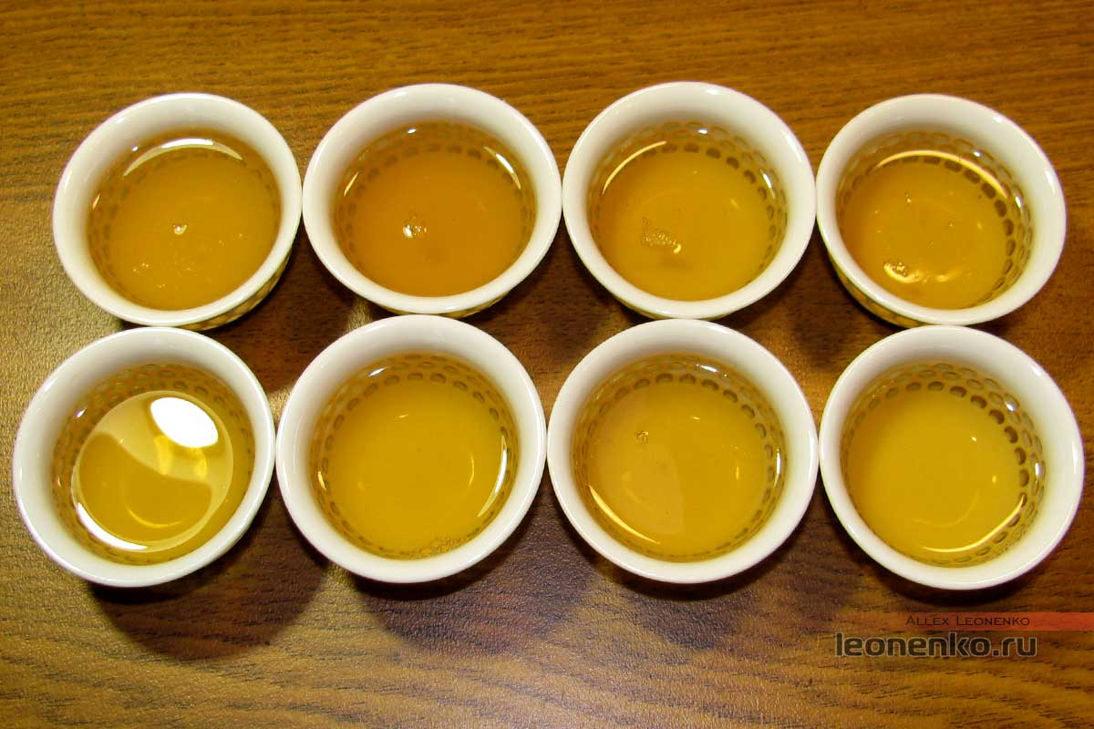 Шен Пуэр Биндао (冰岛) от фабрики Цайчен - готовый чай