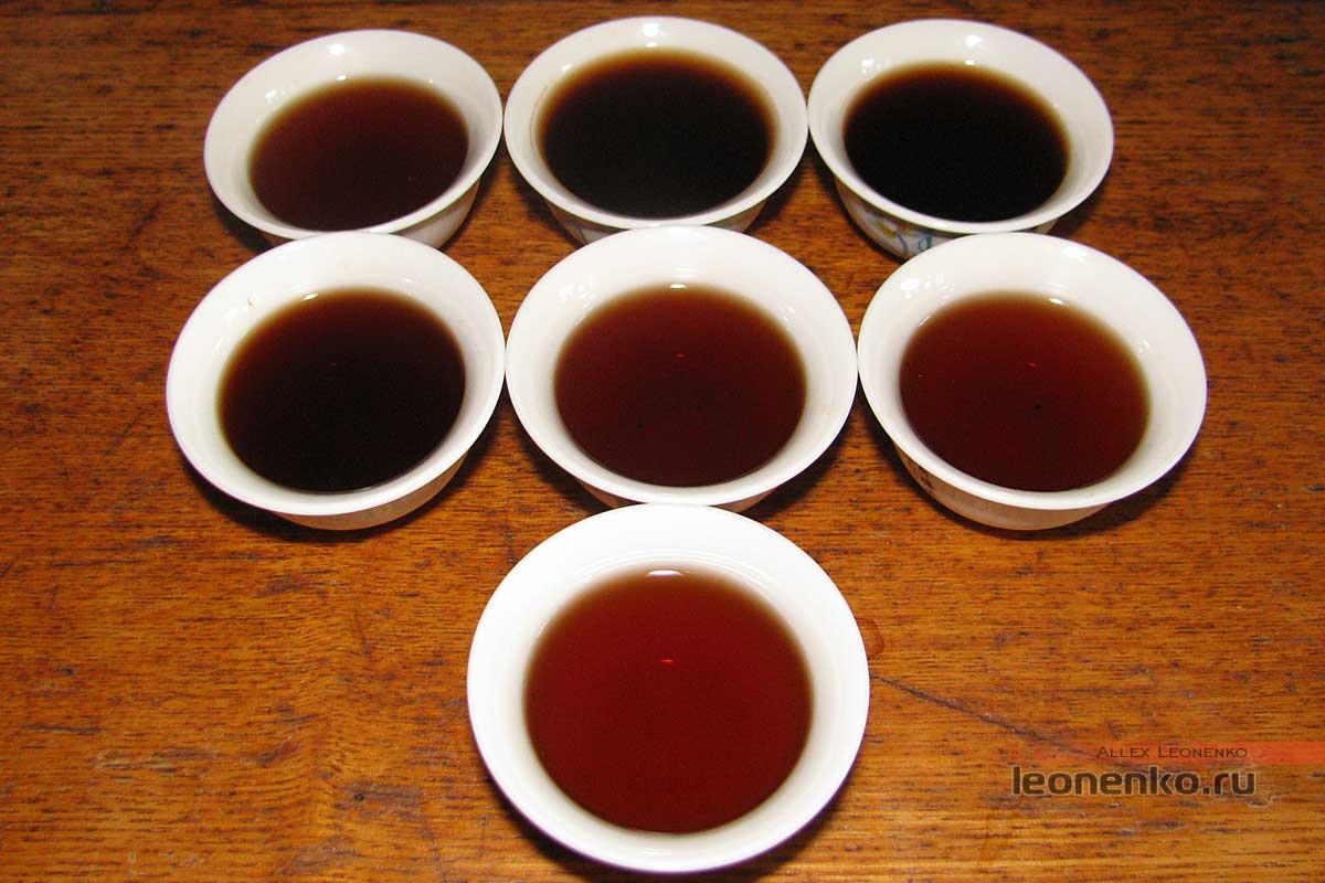 V93 2017 года - приготовленный чай