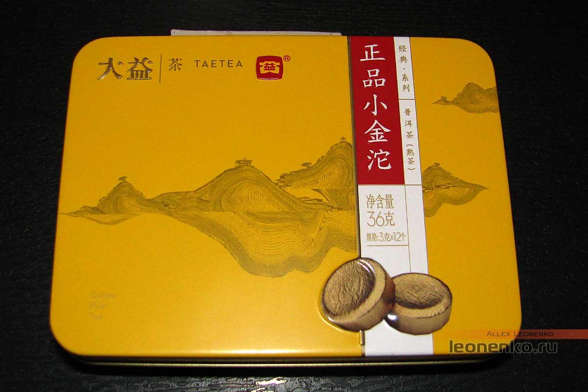 Шу Пуэр Чжэн Пинь Сяо Цзинь То, фабрика Да И - упаковка