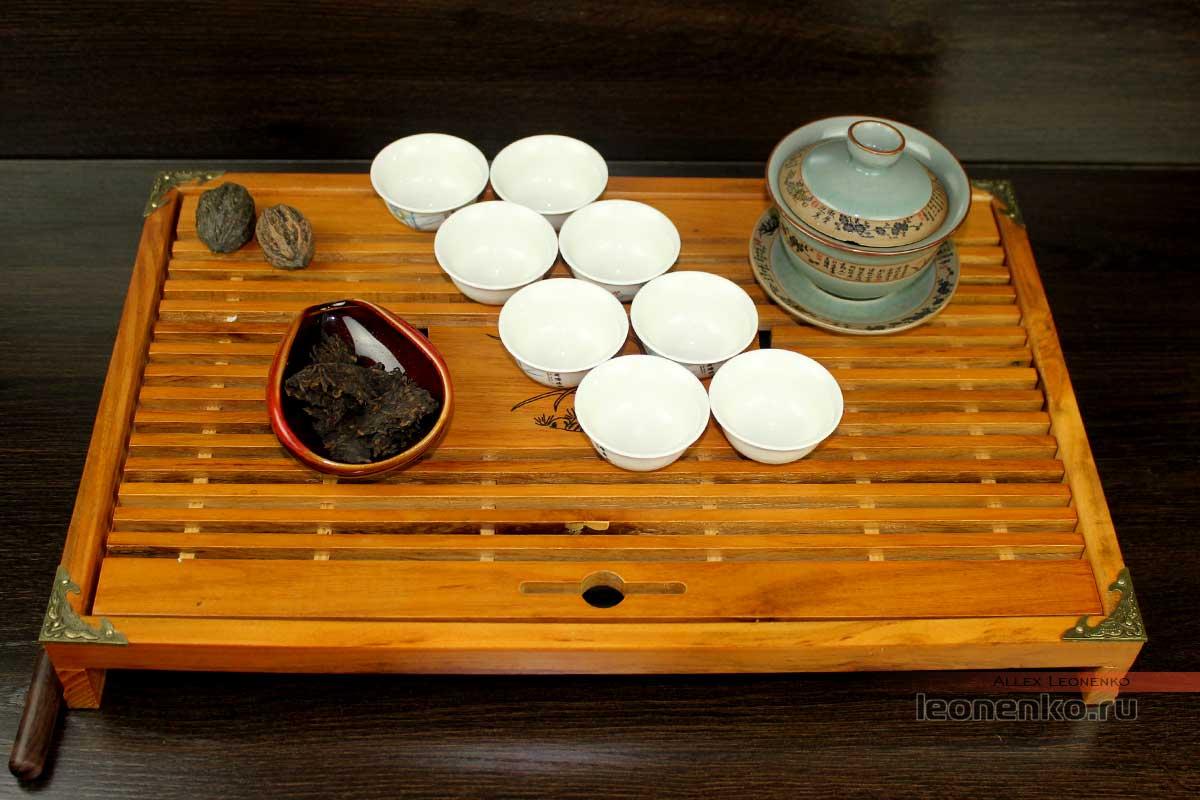 Чай перед приготовлением