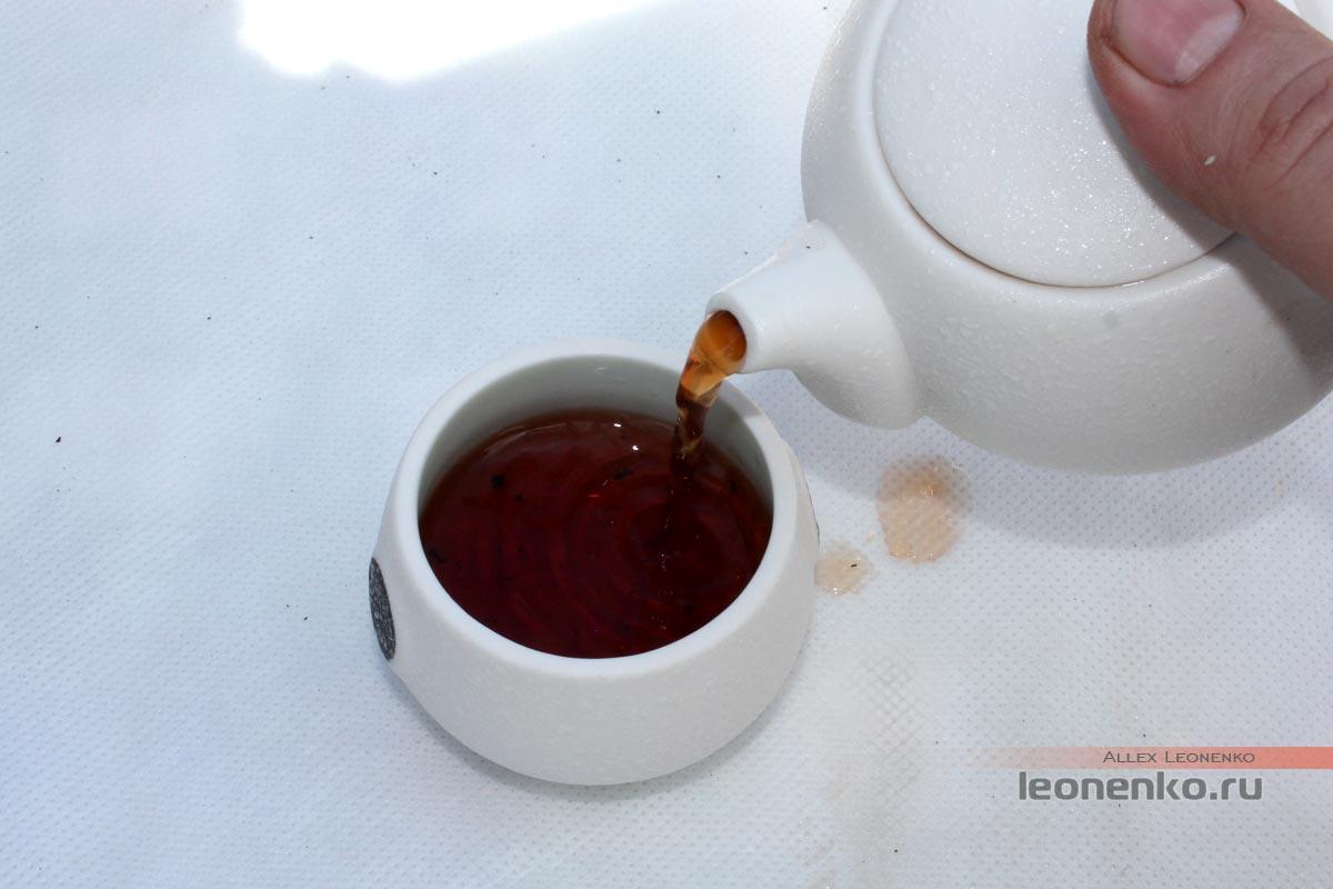 чайный настой шу пуэр 7581