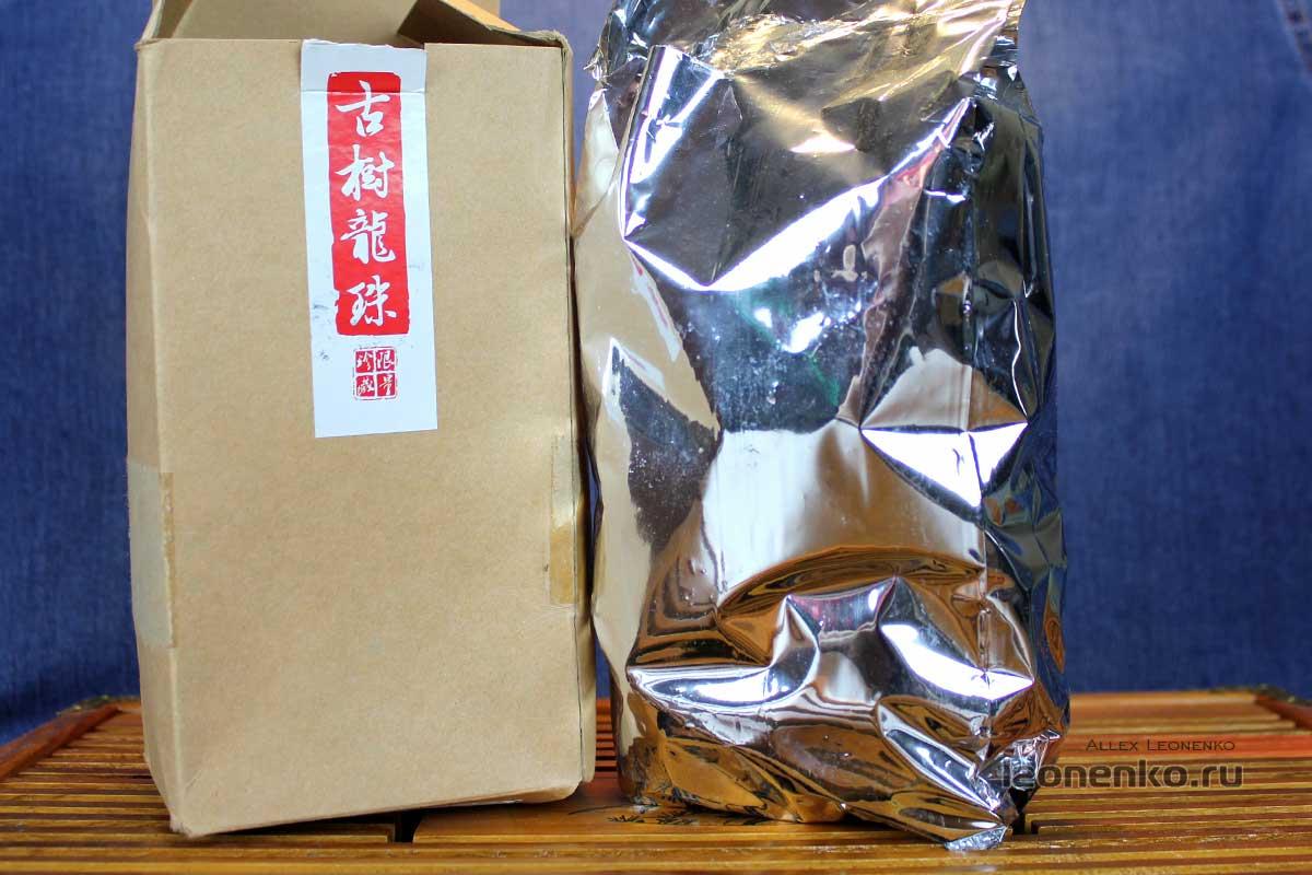 Упаковка с чаем