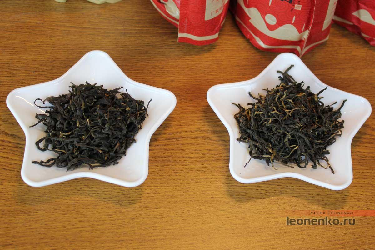 Два чая в сравнении