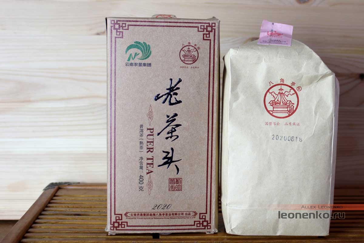 Старые чайные головы Бацзяотин, упаковка