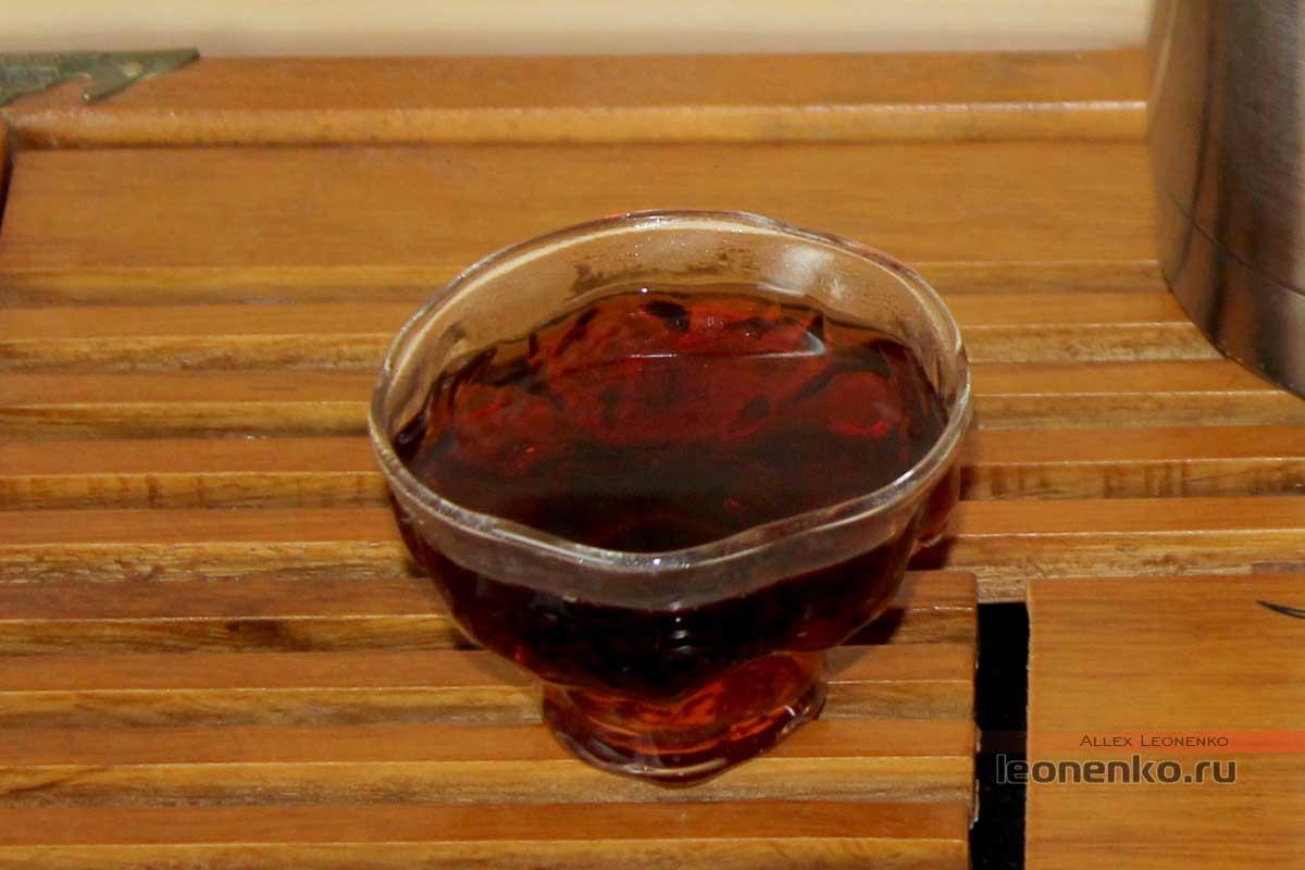 Старые чайные головы Лао Ча Тоу, настой