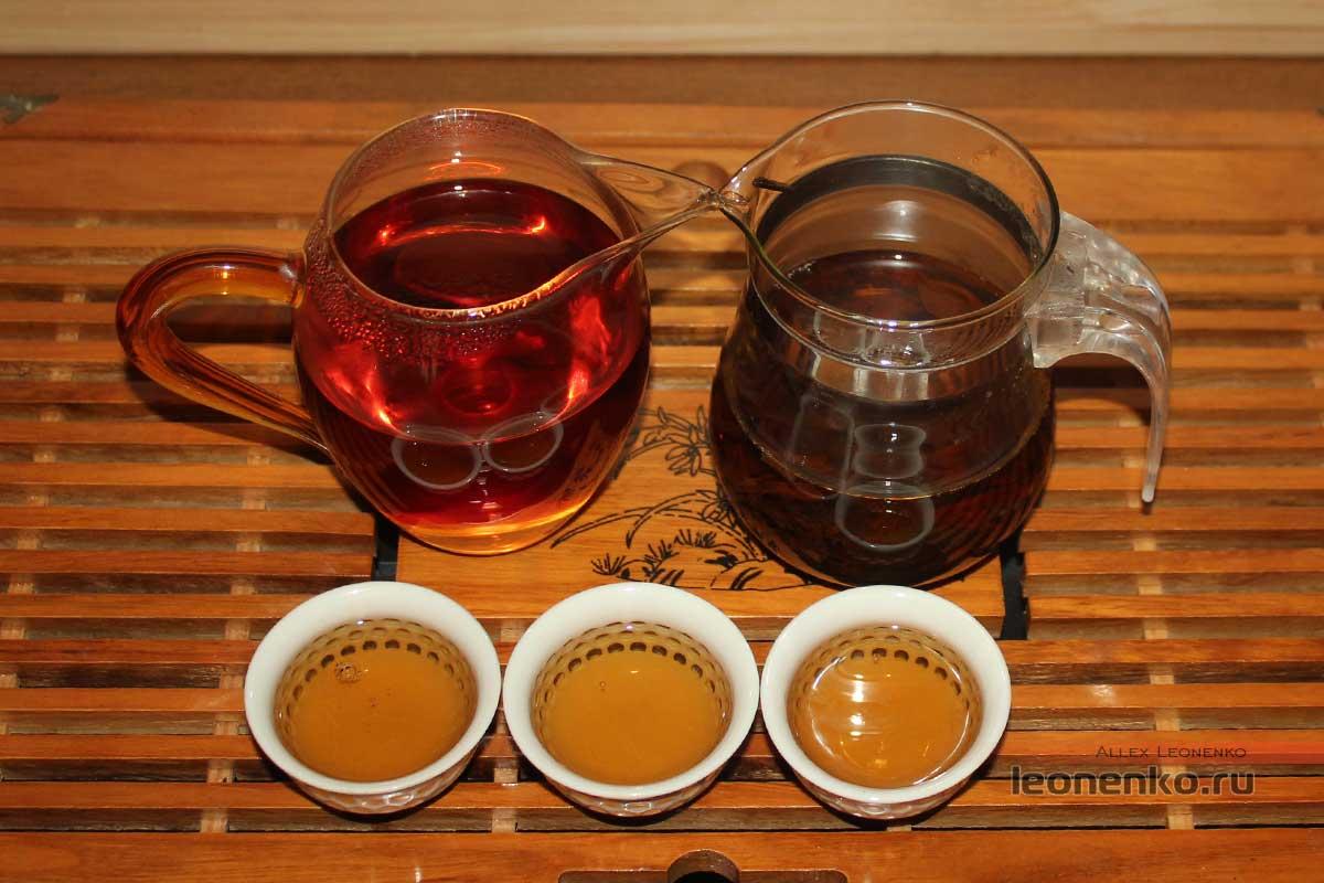 Готовый настой чая