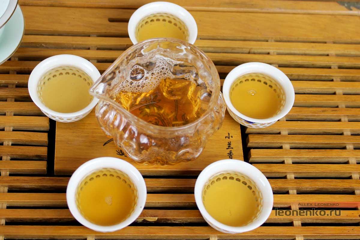 Приготовленный чай
