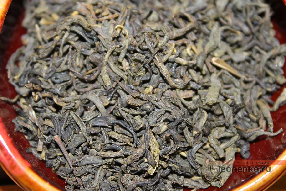 Жасминовый чай от Хоу Ван Пай
