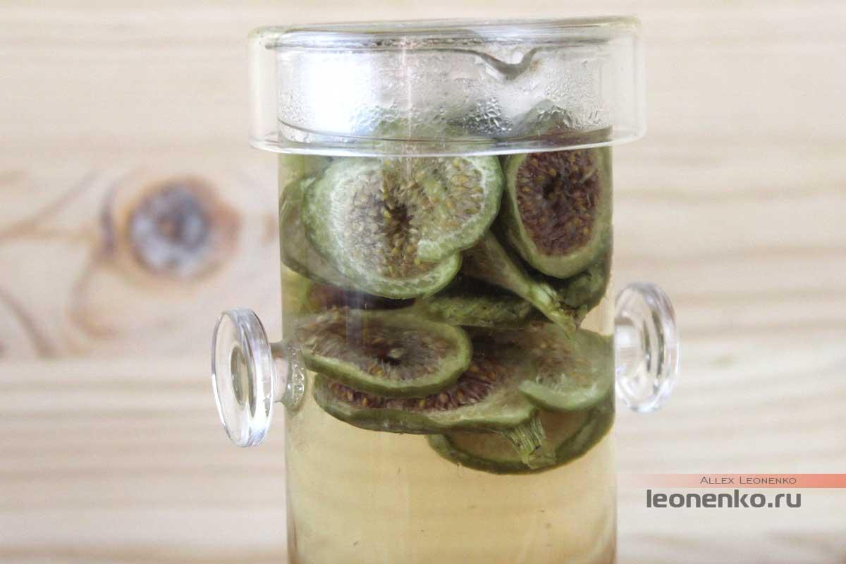 Чай из зеленого инжира