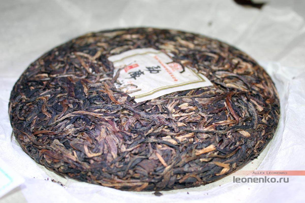 Чайный блин Мэнку Чжэнь Шань