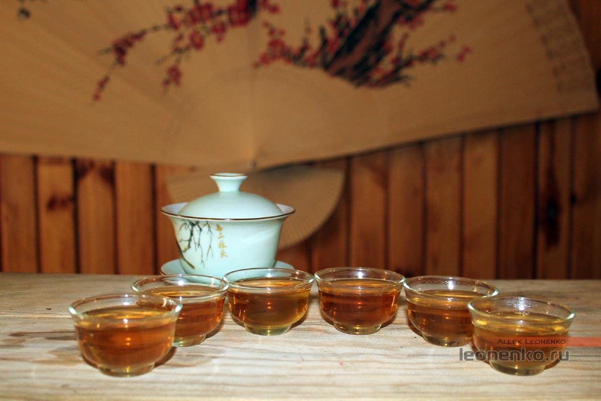 чайный настой Мэнку Чжэнь Шань